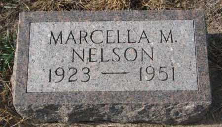 NELSON, MARCELLA M. - Stanton County, Nebraska   MARCELLA M. NELSON - Nebraska Gravestone Photos