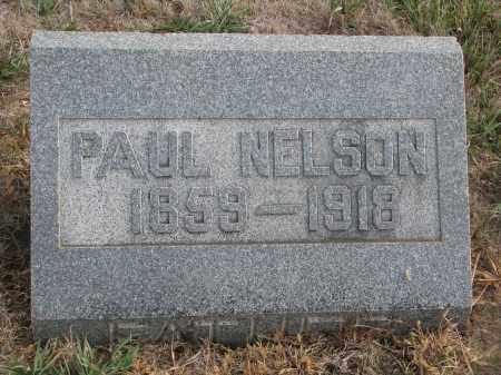 NELSON, PAUL - Stanton County, Nebraska | PAUL NELSON - Nebraska Gravestone Photos