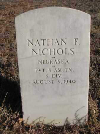 NICHOLS, NATHAN F. - Stanton County, Nebraska | NATHAN F. NICHOLS - Nebraska Gravestone Photos