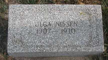 NISSEN, OLGA - Stanton County, Nebraska | OLGA NISSEN - Nebraska Gravestone Photos