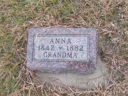 NORLING, ANNA - Stanton County, Nebraska | ANNA NORLING - Nebraska Gravestone Photos