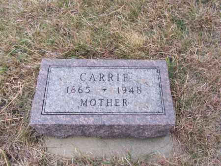 NORLING, CARRIE - Stanton County, Nebraska | CARRIE NORLING - Nebraska Gravestone Photos