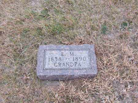 NORLING, E.M. - Stanton County, Nebraska | E.M. NORLING - Nebraska Gravestone Photos