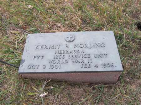 NORLING, KERMIT R - Stanton County, Nebraska | KERMIT R NORLING - Nebraska Gravestone Photos