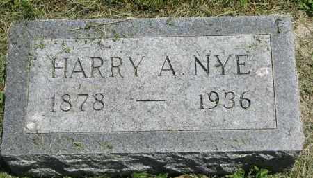 NYE, HARRY A. - Stanton County, Nebraska | HARRY A. NYE - Nebraska Gravestone Photos