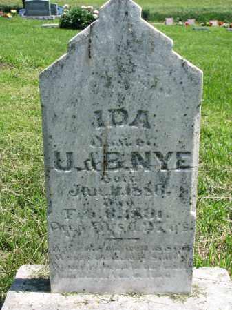 NYE, IDA - Stanton County, Nebraska | IDA NYE - Nebraska Gravestone Photos