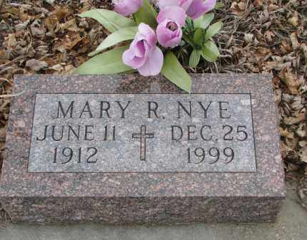 NYE, MARY R. - Stanton County, Nebraska | MARY R. NYE - Nebraska Gravestone Photos