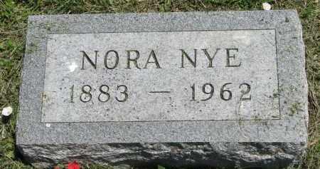 NYE, NORA - Stanton County, Nebraska | NORA NYE - Nebraska Gravestone Photos