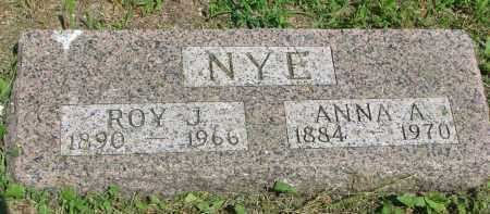 NYE, ROY J. - Stanton County, Nebraska | ROY J. NYE - Nebraska Gravestone Photos