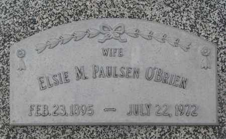 PAULSEN O'BRIEN, ELSIE M. - Stanton County, Nebraska | ELSIE M. PAULSEN O'BRIEN - Nebraska Gravestone Photos