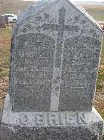 O'BRIEN, KATE - Stanton County, Nebraska | KATE O'BRIEN - Nebraska Gravestone Photos