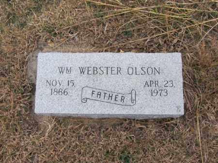 OLSON, WILLIAM WEBSTER - Stanton County, Nebraska | WILLIAM WEBSTER OLSON - Nebraska Gravestone Photos