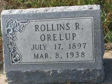 ORELUP, ROLLINS R. - Stanton County, Nebraska   ROLLINS R. ORELUP - Nebraska Gravestone Photos