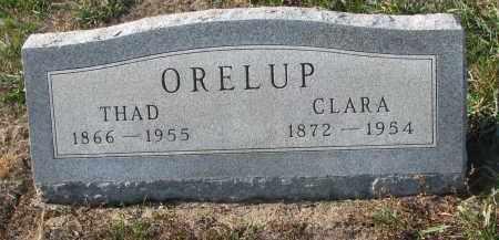 ORELUP, CLARA - Stanton County, Nebraska | CLARA ORELUP - Nebraska Gravestone Photos