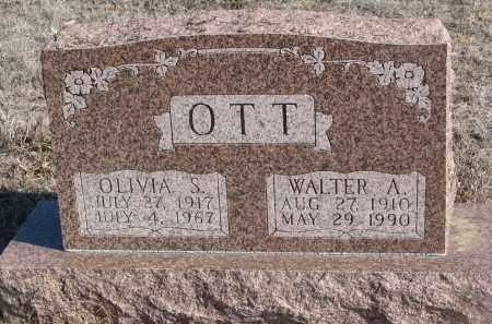 OTT, WALTER A. - Stanton County, Nebraska | WALTER A. OTT - Nebraska Gravestone Photos