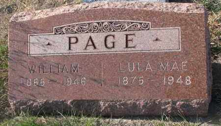 PAGE, WILLIAM - Stanton County, Nebraska | WILLIAM PAGE - Nebraska Gravestone Photos