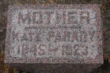 PARADY, KATE - Stanton County, Nebraska | KATE PARADY - Nebraska Gravestone Photos