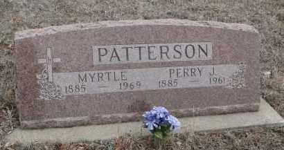 PATTERSON, PERRY J. - Stanton County, Nebraska | PERRY J. PATTERSON - Nebraska Gravestone Photos
