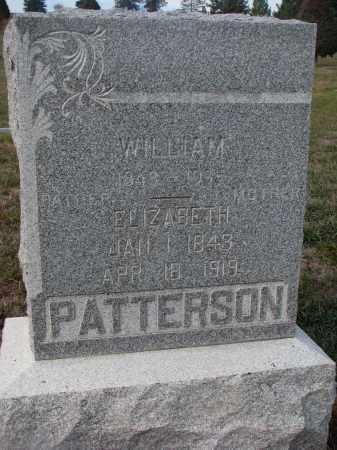 PATTERSON, ELIZABETH - Stanton County, Nebraska | ELIZABETH PATTERSON - Nebraska Gravestone Photos