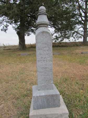 PERSON, HILIMA LENA - Stanton County, Nebraska   HILIMA LENA PERSON - Nebraska Gravestone Photos