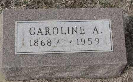 PETERSEN, CAROLINE A. - Stanton County, Nebraska | CAROLINE A. PETERSEN - Nebraska Gravestone Photos