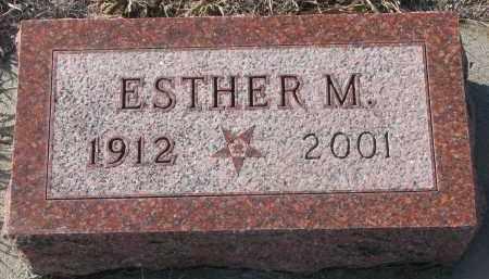 PETERSEN, ESTHER M. - Stanton County, Nebraska | ESTHER M. PETERSEN - Nebraska Gravestone Photos