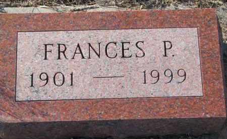 PETERSEN, FRANCES P. - Stanton County, Nebraska | FRANCES P. PETERSEN - Nebraska Gravestone Photos