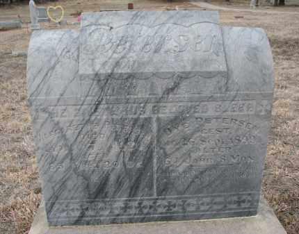 PETERSEN, MARGARETHE - Stanton County, Nebraska | MARGARETHE PETERSEN - Nebraska Gravestone Photos