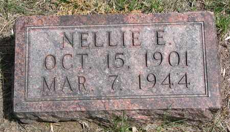PETERSEN, NELLIE E. - Stanton County, Nebraska | NELLIE E. PETERSEN - Nebraska Gravestone Photos