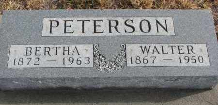 PETERSON, BERTHA - Stanton County, Nebraska | BERTHA PETERSON - Nebraska Gravestone Photos