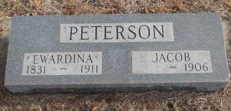 PETERSON, EWARDINA - Stanton County, Nebraska | EWARDINA PETERSON - Nebraska Gravestone Photos