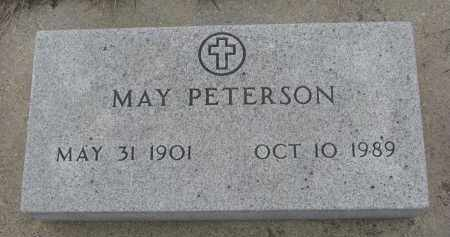 PETERSON, MAY - Stanton County, Nebraska | MAY PETERSON - Nebraska Gravestone Photos