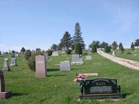 *PILGER CEMETERY, VIEW OF - Stanton County, Nebraska | VIEW OF *PILGER CEMETERY - Nebraska Gravestone Photos