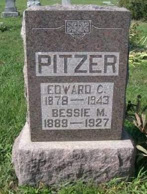 PITZER, EDWARD C. - Stanton County, Nebraska | EDWARD C. PITZER - Nebraska Gravestone Photos