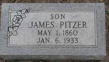 PITZER, JAMES - Stanton County, Nebraska | JAMES PITZER - Nebraska Gravestone Photos