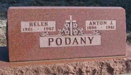 PODANY, HELEN - Stanton County, Nebraska | HELEN PODANY - Nebraska Gravestone Photos
