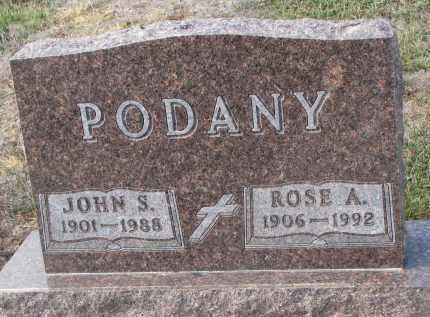 PODANY, ROSE A. - Stanton County, Nebraska | ROSE A. PODANY - Nebraska Gravestone Photos