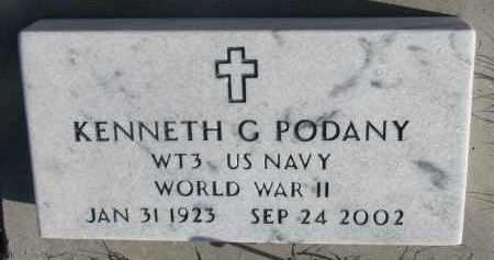 PODANY, KENNETH G. (WW II) - Stanton County, Nebraska | KENNETH G. (WW II) PODANY - Nebraska Gravestone Photos