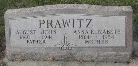 PRAWITZ, AUGUST JOHN - Stanton County, Nebraska | AUGUST JOHN PRAWITZ - Nebraska Gravestone Photos