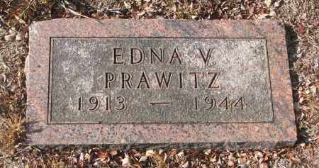 PRAWITZ, EDNA V. - Stanton County, Nebraska | EDNA V. PRAWITZ - Nebraska Gravestone Photos