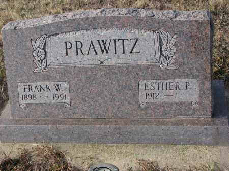 PRAWITZ, FRANK W. - Stanton County, Nebraska | FRANK W. PRAWITZ - Nebraska Gravestone Photos