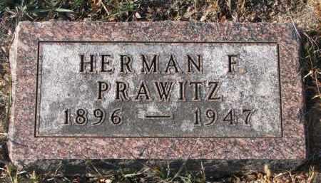 PRAWITZ, HERMAN F. - Stanton County, Nebraska   HERMAN F. PRAWITZ - Nebraska Gravestone Photos
