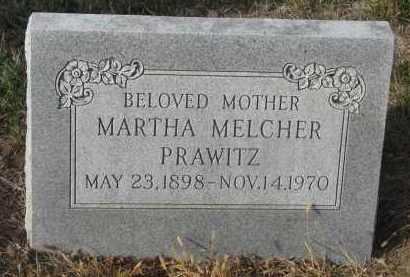MELCHER PRAWITZ, MARTHA - Stanton County, Nebraska | MARTHA MELCHER PRAWITZ - Nebraska Gravestone Photos