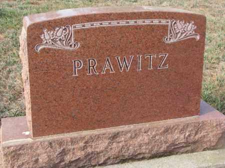 PRAWITZ, PLOT STONE - Stanton County, Nebraska   PLOT STONE PRAWITZ - Nebraska Gravestone Photos