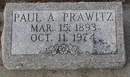 PRAWITZ, PAUL A. - Stanton County, Nebraska   PAUL A. PRAWITZ - Nebraska Gravestone Photos
