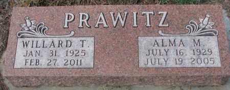 PRAWITZ, WILLARD T. - Stanton County, Nebraska | WILLARD T. PRAWITZ - Nebraska Gravestone Photos