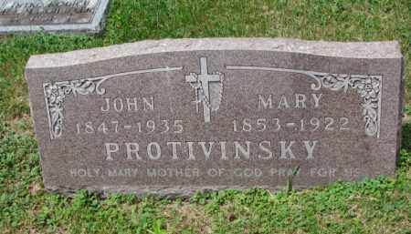 PROTIVINSKY, MARY - Stanton County, Nebraska | MARY PROTIVINSKY - Nebraska Gravestone Photos
