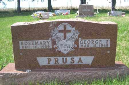 PRUSA, GEORGE S. - Stanton County, Nebraska   GEORGE S. PRUSA - Nebraska Gravestone Photos