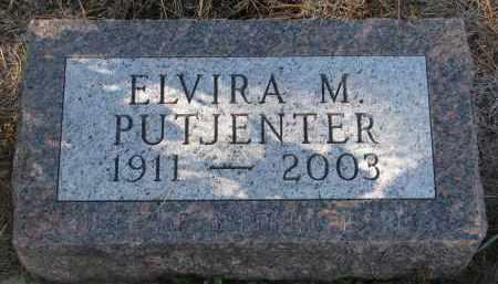 PUTJENTER, ELVIRA M. - Stanton County, Nebraska   ELVIRA M. PUTJENTER - Nebraska Gravestone Photos