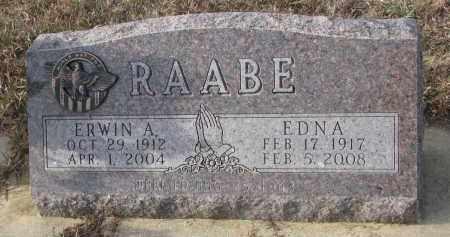 RAABE, ERWIN A. - Stanton County, Nebraska | ERWIN A. RAABE - Nebraska Gravestone Photos